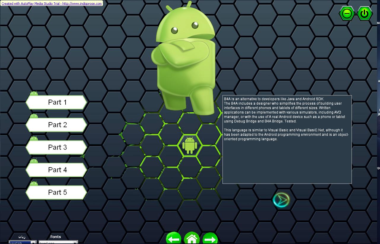 پروژه اتوران – اتوپلی برای آموزش بیسیک فور اندروید