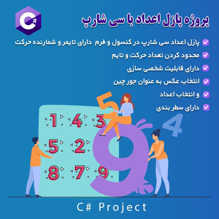 پروژه پازل اعداد با سی شارپ c#