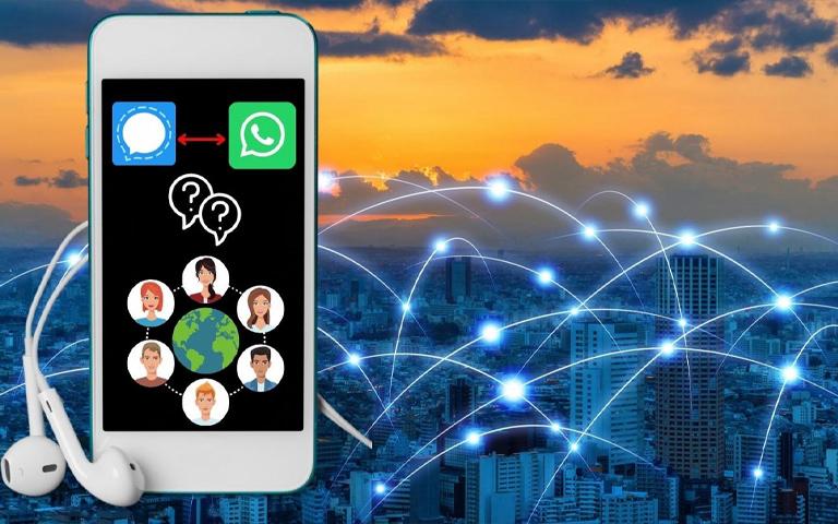 پیام رسان سیگنال جایگزین مناسب برای واتساپ و تلگرام