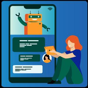 سورس ربات و کد نمایش متن در کادر پیام